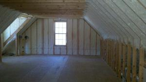 Complete attic spray foam