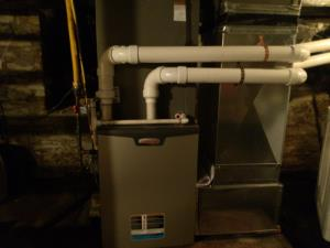 Lennox LP fired furnace replacement