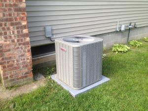 Lennox outdoor condensing unit
